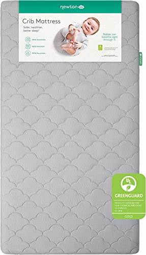 Newton Baby Crib Mattress and Toddler Bed | 100% Breathable Proven to Reduce Suffocation Risk, 100% Washable, Hypoall...