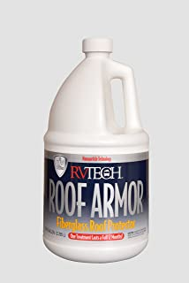 RVTECH RV Fiberglass Roof RV Roof Protectant RV Roof Treatment 1 Gallon Ready-to-Use