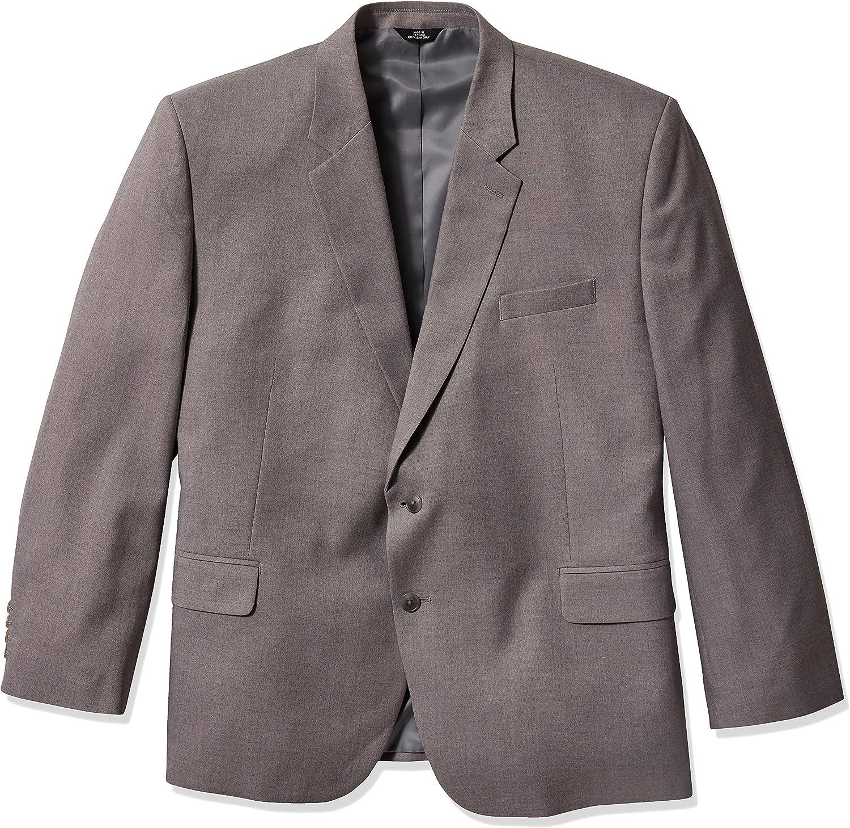 Haggar Men's Stretch Classic Fit 2-Button Center Suit Separate Coat