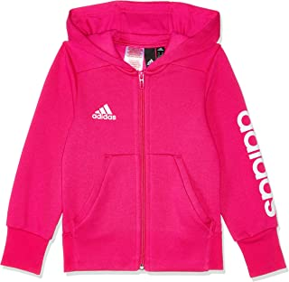 adidas Girls' Youths Essentials 3-Stripes Mid Hoodie