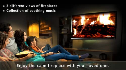 『Calm Fireplace TV』の11枚目の画像