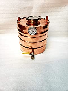 Copper Moonshine Thumper/Doubler Upgrade (5 Gallon) for 15 Gallon Alembic Onion Top Whiskey Stills