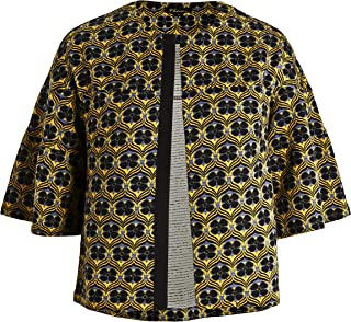 ae6f5c47f54 Chicwe Women s Plus Size Light Weight Floral Printed Cardigan - Casual and  Work Jacket