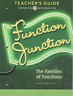 Function Junction; The Families of Functions, Teacher's Guide