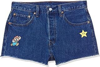 Levi's Women's Regular Fit Cotton Casual Shorts