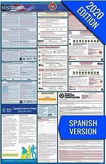 2020 Missouri (Spanish) Labor Law Poster – State, Federal, OSHA Compliant – Single Laminated Poster