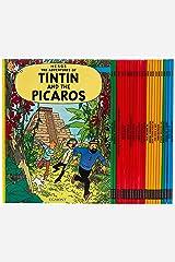 Tintin Paperback Boxed Set 23 titles ペーパーバック
