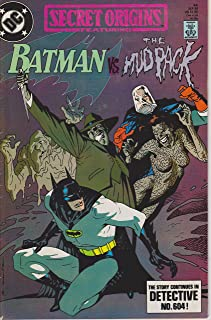Secret Origins Featuring Batman, Number 44 [No., #], Sep 89 [September 1989, 9-89]: Batman vs. The Mudpack [Mud Pack]