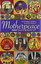 Mini Motherpeace Round Tarot Deck & Book Set