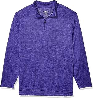 Charles River Apparel Mens 9763 Space Dye Moisture Wicking Performance Pullover Raglan Sleeve T-Shirt