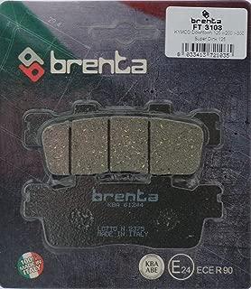 SH 125 Brenta Pastiglie Freno Organiche Moto per Honda 100 Lead Dylan 125 SVC110