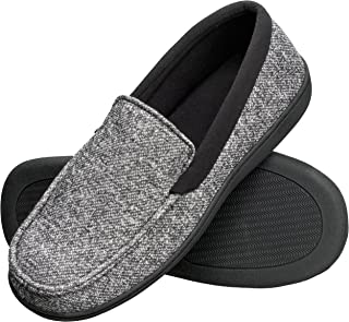 Men's Slippers House Shoes Moccasin Comfort Memory Foam...