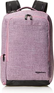 amazonBasics Slim Carry On Travel Backpack Overnight, Purple