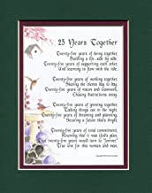 Best 25th anniversary poems Reviews