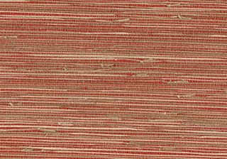 Brewster 53-65661 36-Inch by 288-Inch Rio - Hand Weaved Grasscloth Wallpaper, Red & Tan