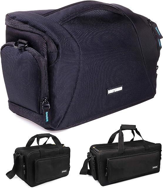 Bodyguard Easy SLR XL–Bolsa para cámaras réflex grande para Body y 3objetivos negro para por ejemplo Canon EOS 70d 77d 80d 200d 1300d 2000d 4000d700d 750d 760d 77d 800d