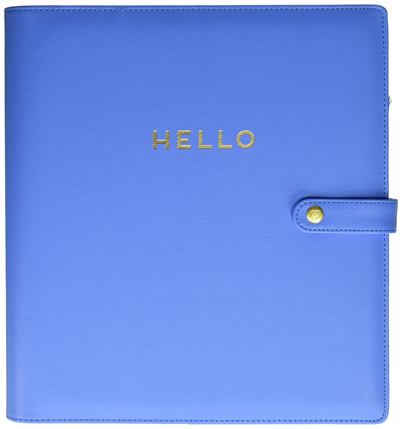 me & my BIG ideas  CODL-08 Create 365 The Happy Planner Big Deluxe Cover, Snorkle Blue