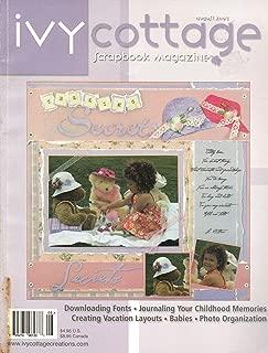 Ivy Cottage Scrapbook Magazine (August 2003, Volume 6, Issue 1)