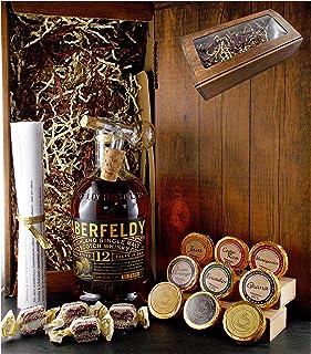 Geschenk Aberfeldy 12 Jahre Single Malt Whisky  Glaskugelportionierer  Edelschokolade  Fudge