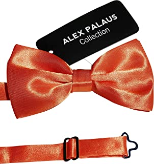 3dc8f5e98959 Stylish Designer Bow Ties - Pre Tied, Adjustable Unisex Bowtie for Men,  Women,