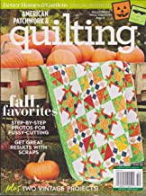 Better Homes & Gardens American Patchwork & Quilting Magazine October 2018
