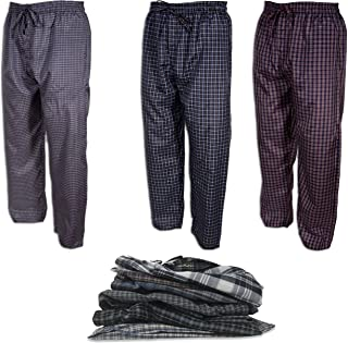 80dd5c992cd Andrew Scott Men s 3 Pack Super Light Woven Pajama Sleep Lounge Pants