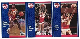 1991-92 Fleer Basketball Near Complete Set of 240 Cards Missing # 210