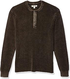 Amazon Brand - Goodthreads Men's Soft Cotton Henley Sweater