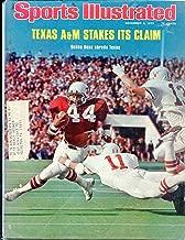 Sports Illustrated Magazine December 8,1975 Texas A&M Bubba Bean