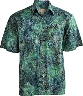 Antigua Summer Tropical Hawaiian Batik Shirt