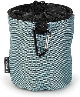 Brabantia Premium Peg Bag with Hanging Clip - Black/Blue/Mint (Assorted)