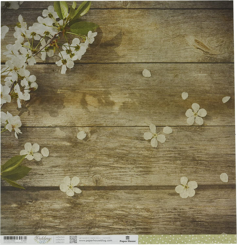 Papier House PRODUCTIONS p-2009e doppelseitig Apple Blossom Papier (15 (15 (15 Pack), 30,5 cm B011Q30856   Verkaufspreis  09dca3