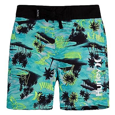 Hurley Kids Waikiki Doodle Boardshorts (Big Kids) Boy