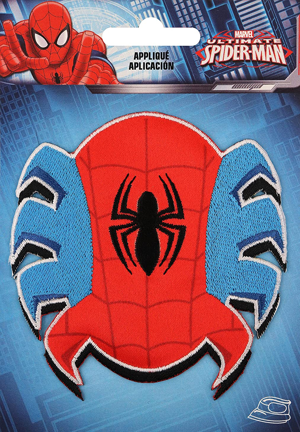 Wrights Spider-Man Crab Marvel Comics Iron-On Applique