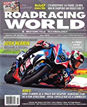 ROADRACING WORLD & MOTORCYCLE TECHNOLOGY Magazine July 2019, JOSH HERRIN Cover, BMW S1000RR