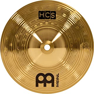 """Meinl 8"""" Splash Cymbal – HCS Traditional Finish Brass for Drum Set, Made In Germany, 2-YEAR WARRANTY (HCS8S)"""