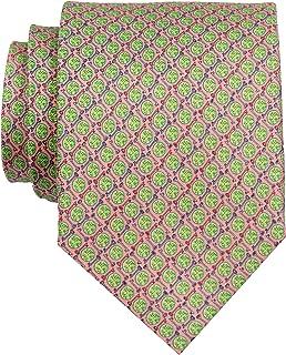 Peter-Blair Men's Coral Key Lime 100% Silk Tie Handmade in USA (39KLC2)