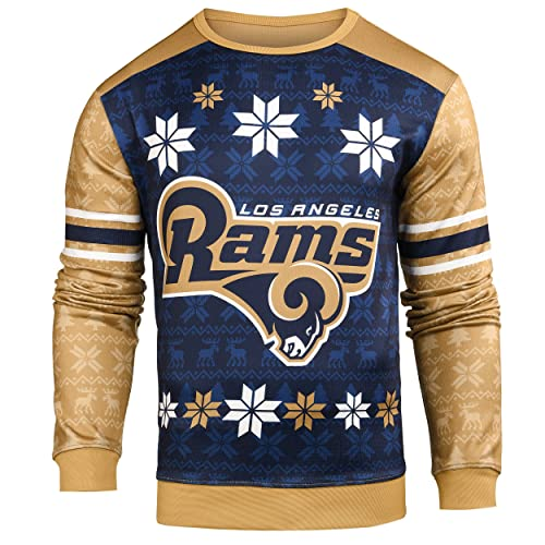 499ddcf3 Forever Collectibles NFL Men's Printed Ugly Sweater, Multiple Teams