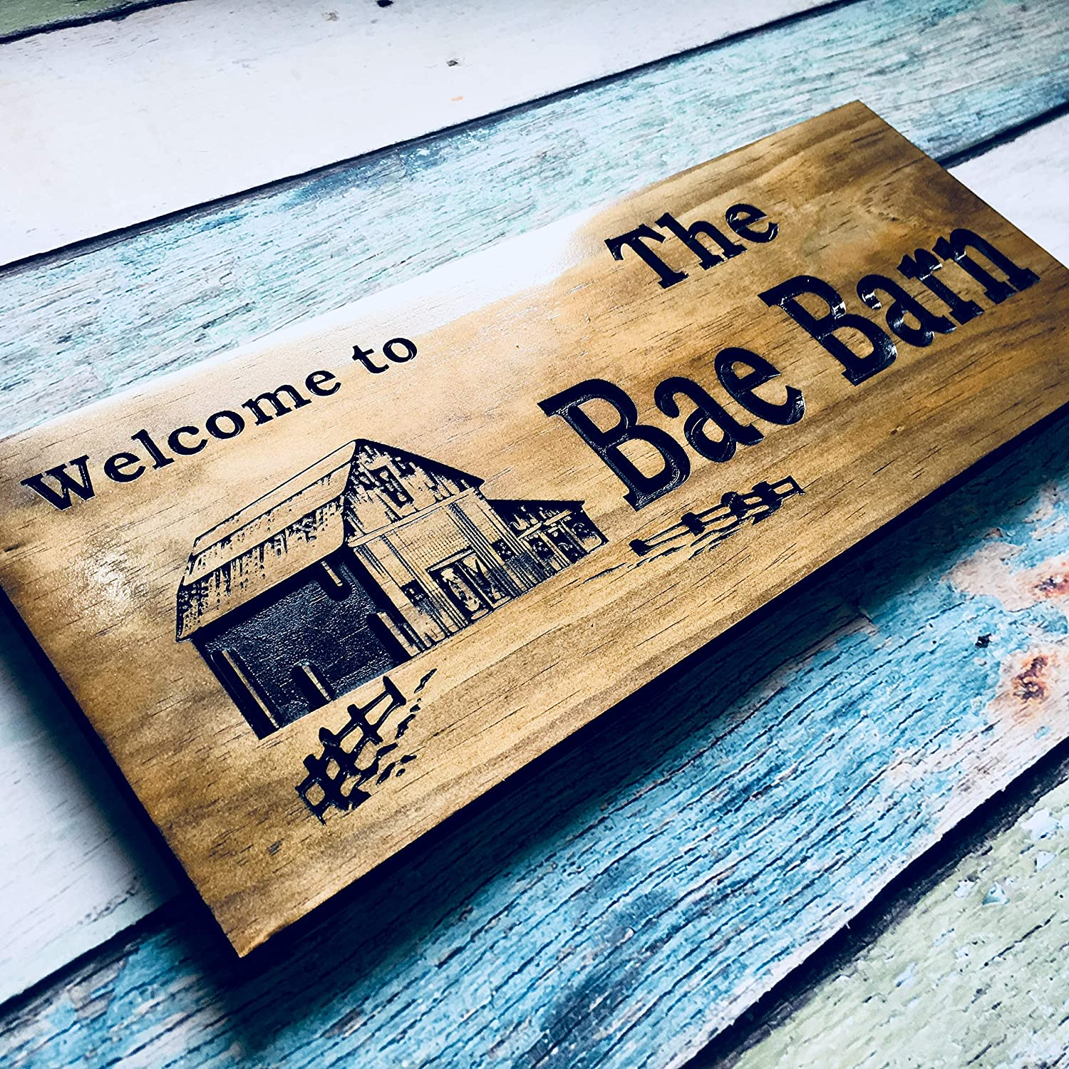 Personalized Wooden Sign Max 86% OFF Custom Ranking TOP20 Family Farmhouse Cabin
