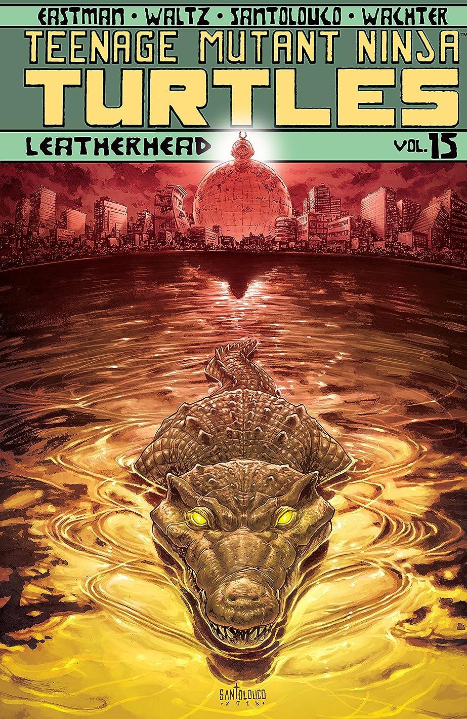 フォーマット革命的青写真Teenage Mutant Ninja Turtles Vol. 15: Leatherhead (English Edition)