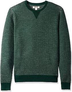 Amazon Brand - Goodthreads Men's Merino Wool Crewneck Birdseye Sweater
