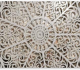 murando Fotomurales 350x256 cm XXL Papel pintado tejido no tejido Decoración de Pared decorativos Murales moderna Diseno Fotográfico Mandala Oriente Abstraccion 3D f-a-0583-a-a