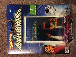 Hot Wheels AcceleRacers Metal Maniacs #5 of 9 Hollowback Includes 3 Collectible Game Cards