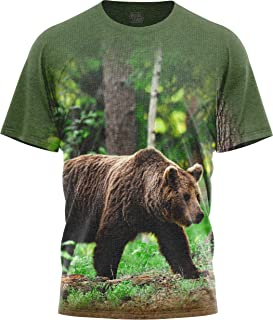 Men Women's Graphic T Shirts Short-Sleeve Crewneck Animal Print T-Shirt Wildkind