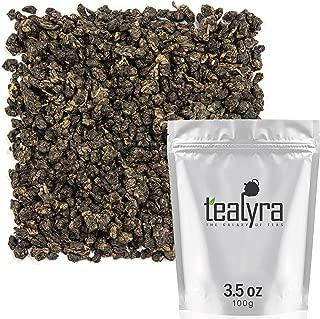 Tealyra - Milk Jin Xuan Oolong - High Mountain Taiwanese Loose Leaf Tea - Great Milky Cream Taste and Aroma - Organically Grown - Weight Loss Tea - 100g (3.5-ounce)