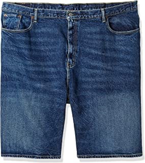 Levi's Men's Big and Tall Big & Tall 569 Loose Straight Denim Shorts