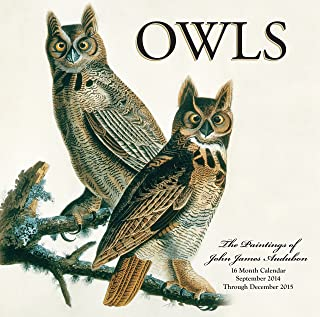 Owls 2015: 16-Month Calendar September 2014 through December 2015