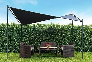 Coolaroo Butterfly Gazebo, Backyard or Patio Gazebo, 99% UV Block, Steel Frame, (13'1