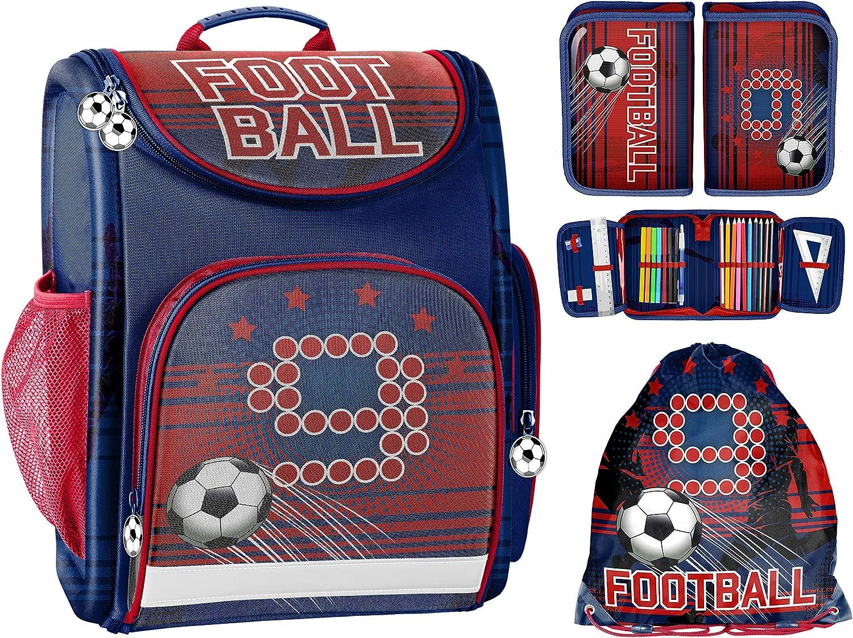 descuento online Taschen-rucksack24 - Bolsa Bolsa Bolsa Escolar Niños Azul Rojo ca. 41 x 27 x 15 cm  tienda de pescado para la venta