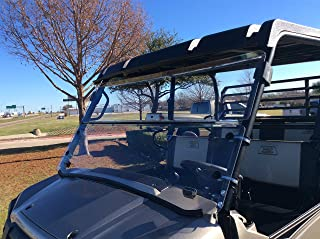 A&S AUDIO AND SHIELD DESIGNS 2015-2020 KAWASAKI MULE PRO-FX,PRO-FXT, PRO-DX, PRO-DXT 316 FOLD DOWN WINDSHIELD